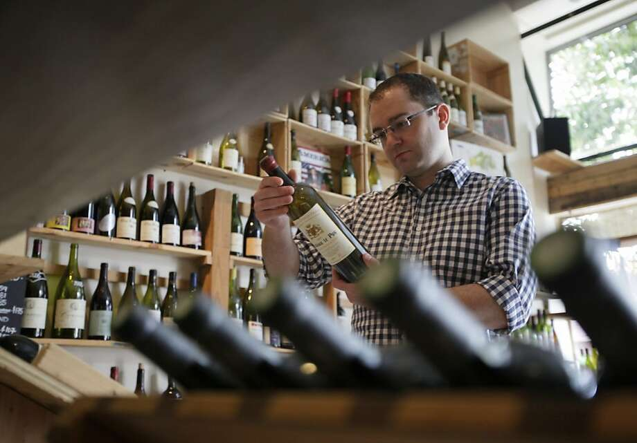 Philip James founded Snooth and is now behind Lot18, which sends out wine deals to 300,000 registered users. Photo: Eric Risberg, AP