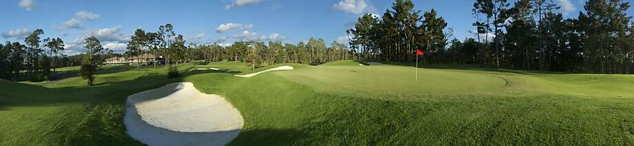 Poppy Hills Golf Course in Pebble Beach, hole 7. Photo: Courtesy Of Poppy Hills Golf Cou, Special To The Chronicle