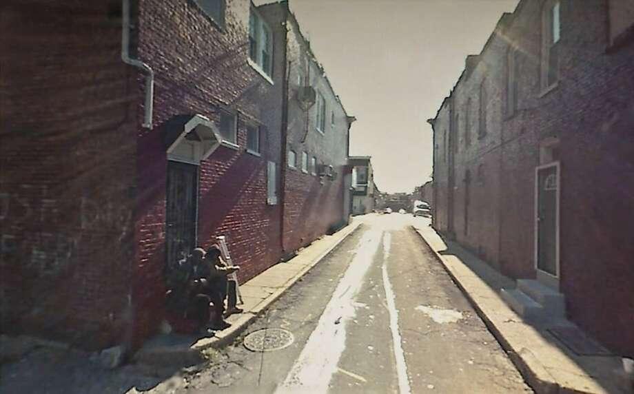 """#39.259736, Baltimore, MD."" (2008) arcival pigment print by Doug Rickard Photo: Doug Rickard, Stephen Wirtz Gallery, S.f."