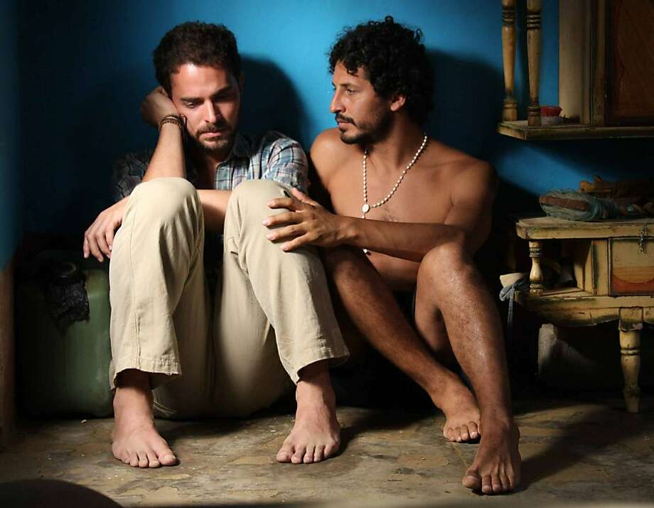 Manolo Cardona, left, and Cristian Mercado in UNDERTOW Photo: Contracorrientelapelicula.com