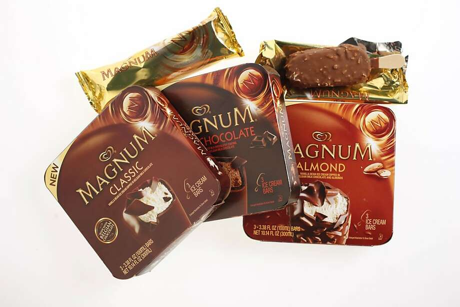 Magnum ice cream bars  Photo: Craig Lee, Special To The Chronicle