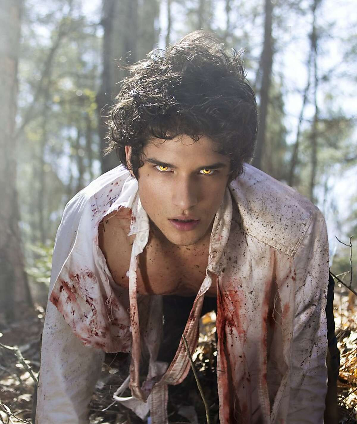 Tyler Posey plays Scott McCall in MTV's,