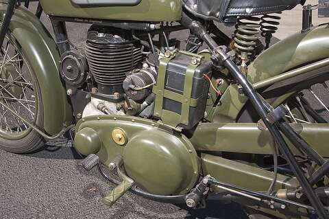 1940 BSA M20 military motorcycle - SFGate