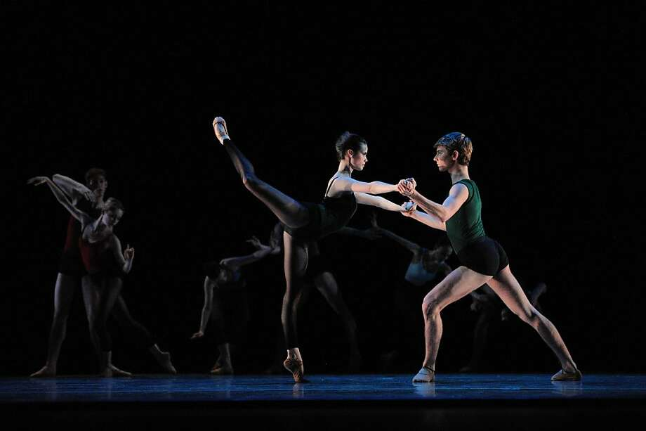 Photo credit for both images: San Francisco Ballet School students perform in the 2010 Student Showcase. (? Erik Tomasson) Photo: Erik Tomasson