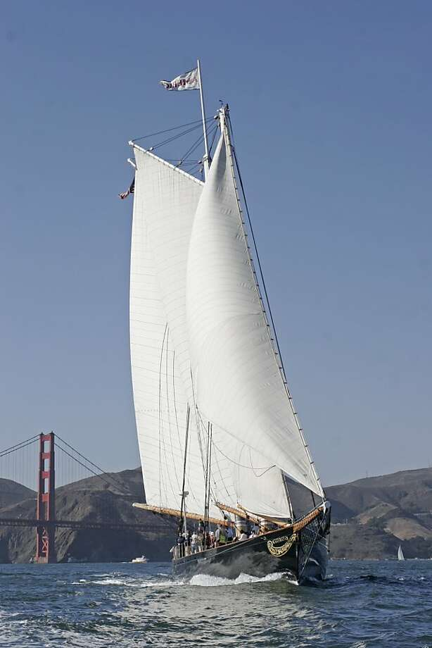 Pictures of yacht America. Photo: Bob Grieser