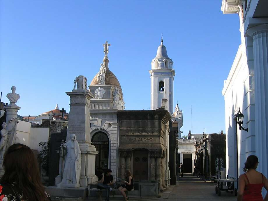La Recoleta Cemetery in Buenos Aires. Photo: Dominick Merle, Special To The Chronicle