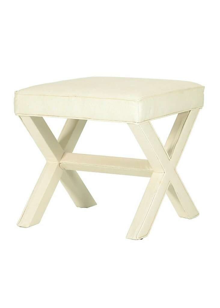 X Bench In Twill Off White From Ballard Designs Ballarddesigns