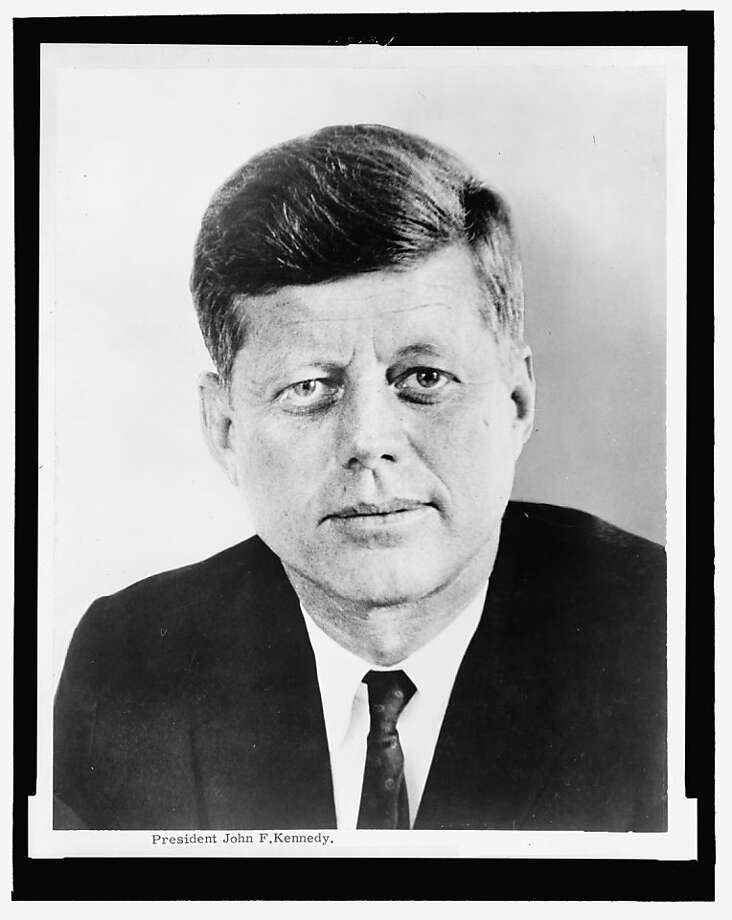 President John F. Kennedy Photo: Library Of Congress, Courtesy To The Chronicle