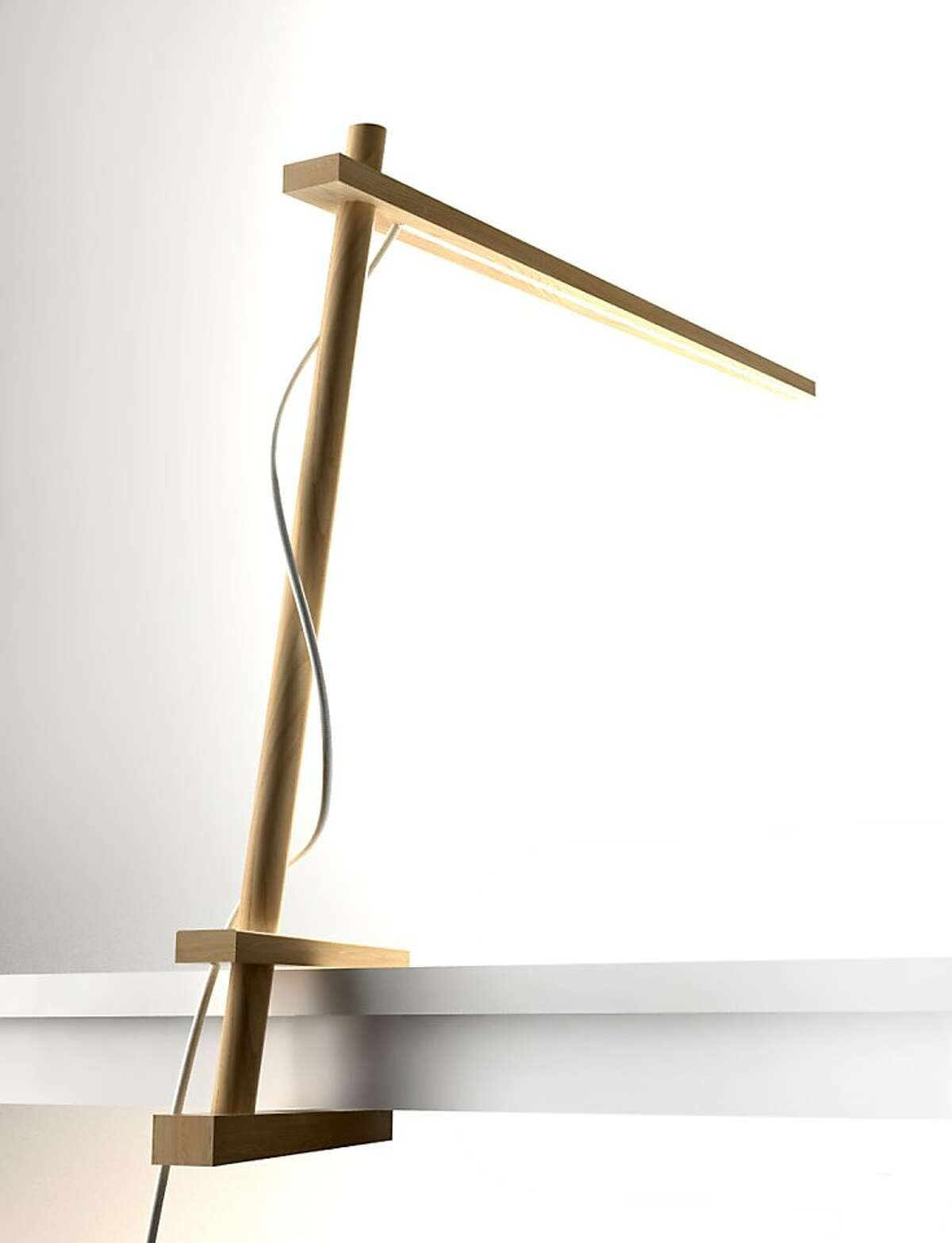 Pablo's Clamp Lamp by Dana Canaam.