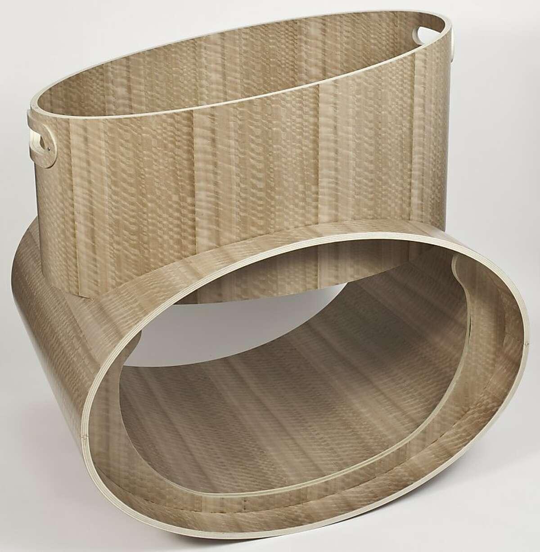 Heidi Newell's Ovum bassinette