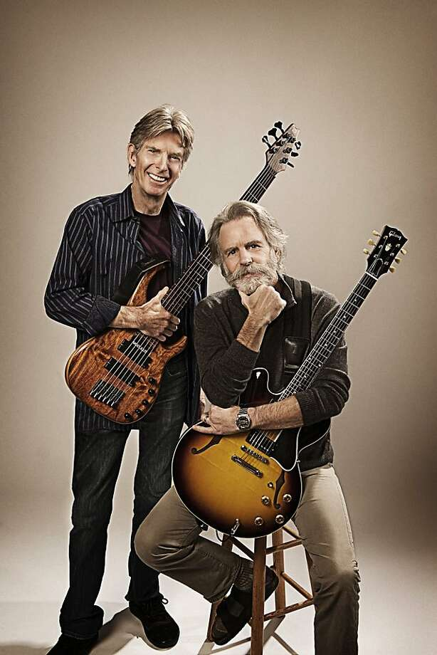 Furthur, featuring the Grateful Dead's Phil Lesh (l.) and Bob Weir (r.). Photo: Furthur