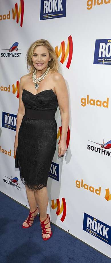 Golden Gate Award winner Kim Cattrall at the 22nd Annual GLAAD Media Awards presented by ROKK Vodka at the San Francisco Marriott Marquis, May 14, 2011. Photo: Drew Altizer