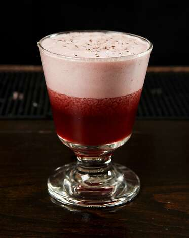 "A ""Sweet Peat"" by Chronicle Bar Star Morgan Young of Fifth Floor and 15 Romolo is seen in Burritt Room in San Francisco, Calif. on Tuesday, May 10, 2011. Photo: Russell Yip, The Chronicle"
