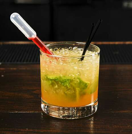 "A ""Narguja"" by Chronicle Bar Star Alex Smith of Gitane is seen in Burritt Room in San Francisco, Calif. on Tuesday, May 10, 2011. Photo: Russell Yip, The Chronicle"