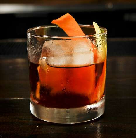 "A ""Kentucky Stinger"" by Chronicle Bar Star Kevin Dietrich of Burritt Room is seen in Burritt Room in San Francisco, Calif. on Tuesday, May 10, 2011. Photo: Russell Yip, The Chronicle"