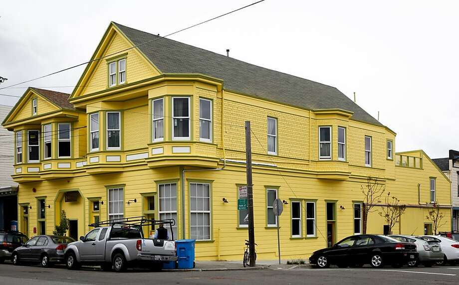 The Yellow Barn building at Minnesota and 22nd Streets is seen on Monday, May 16, 2011 in San Francisco, Calif. Photo: Russell Yip, The Chronicle