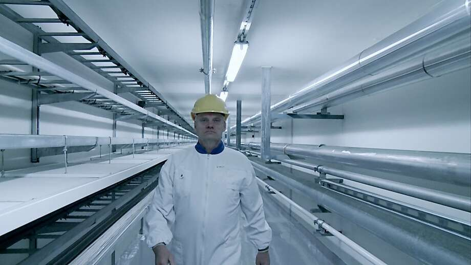 A technician at Onkalo, a nuclear waste storage facility in Finland, as seen in INTO ETERNITY. Courtesy of International Film Circuit. Photo: Courtesy Of International Film C