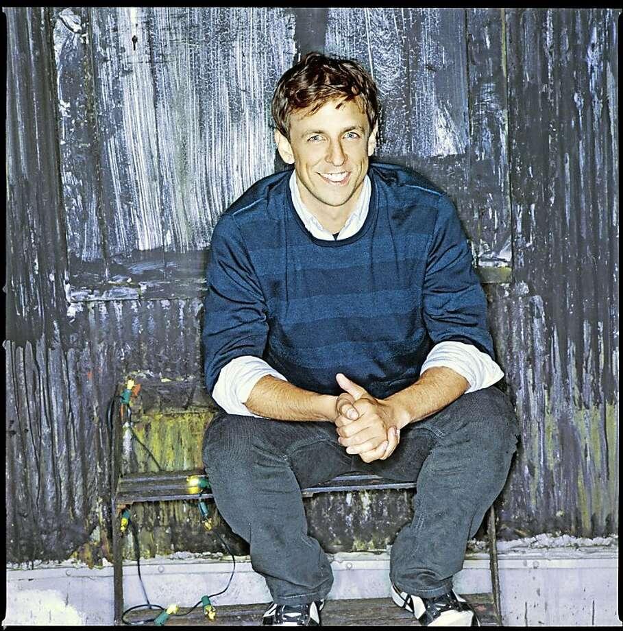 Saturday Night Live's Seth Meyers. Photo: Mary Ellen Matthews, NBC