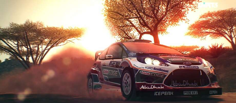 DiRT 3 features different racing events from all over the world.