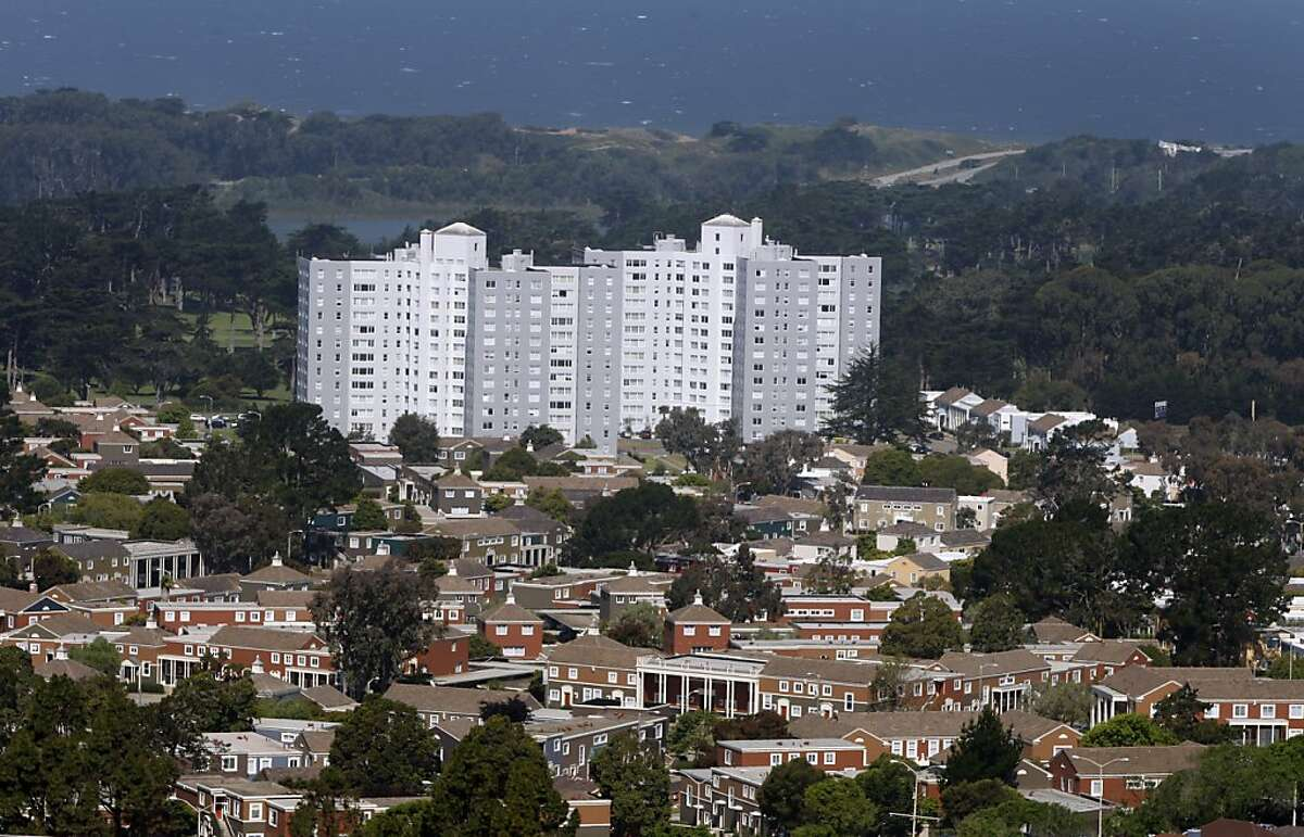 The Park Merced neighborhood is seen in San Francisco, Calif., on Thursday, June 10, 2010. Owners of the sprawling complex of houses and high-rise apartment buildings plan to proceed with a $1.2 billion renovation project despite defaulting on their mortgage.