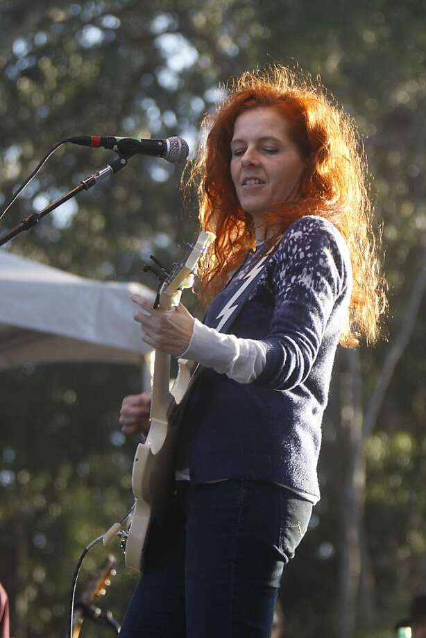 Neko Case performs at the Hardly Strictly Bluegrass Festival in Golden Gate Park in San Francisco, Calif. on Sunday October 4, 2009. Photo: Lea Suzuki, The Chronicle