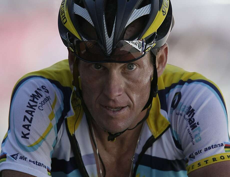 Lance Armstrong has endured the most credible assault yet on his reputation as a clean champion when former teammate Tyler Hamilton said Sunday that he saw Armstrong use performance enhancing drugs. Photo: Laurent Rebours, Associated Press 2009