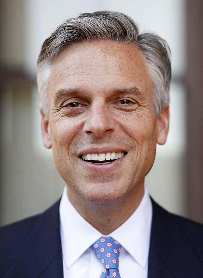 "Jon Huntsman Jr. , described as the ""Republican Democrats fear most"" in the 2012 presidential race, stands for a portrait on the steps of the Pacific Union Club on Tuesday May 24, 2011 in San Francisco, Calif. Photo: Mike Kepka, The Chronicle"