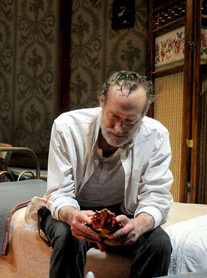James Carpenter in Sarah Ruhl?s new version of ?Three Sisters? at Berkeley Rep, directed by Les Waters. Credit: mellopix.com Photo: Mellopix.com