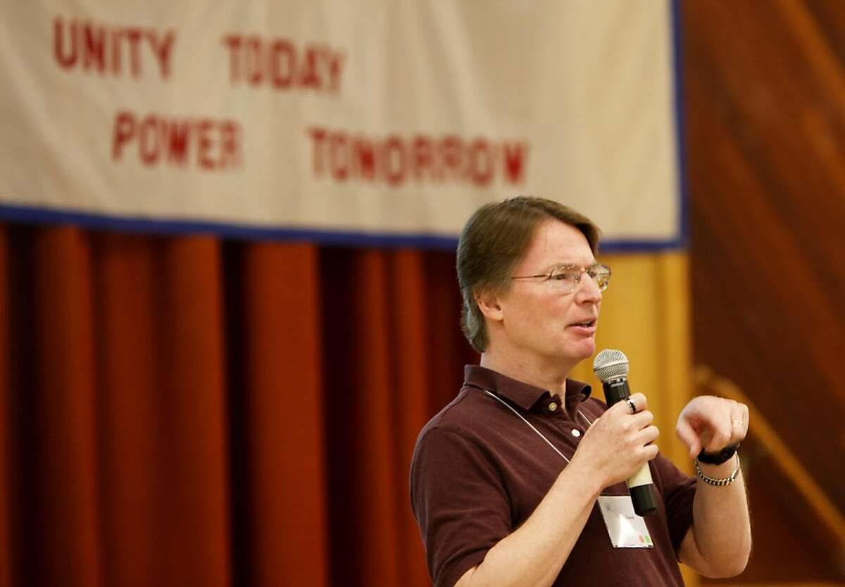 David Eller spoke to the meeting about building an atheist culture and also about the rapture event that never happened. The American Atheists' West Coast Regional meeting Sunday May 22, 2011, one day after the alleged rapture didn't come true, was held in Oakland, Calif.