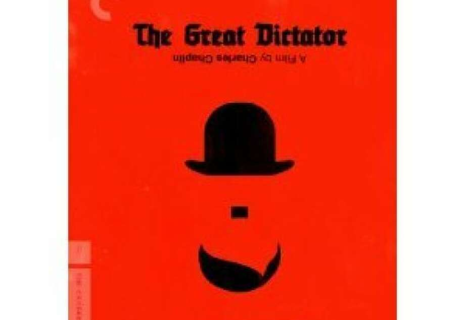 dvd cover THE GREAT DICTATOR Photo: Amazon.com