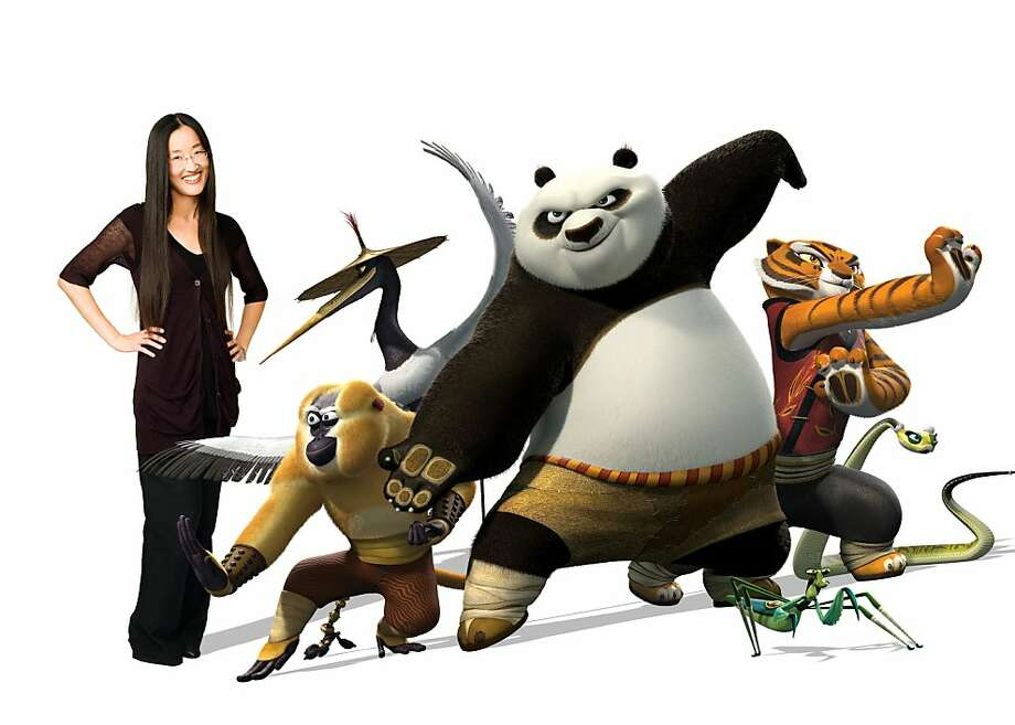 KFP2compJYN Jennifer Yuh Nelson (left) is the director of DreamWorks Animation's KUNG FU PANDA 2, to be released by Paramount on Thursday, May 26, 2011.  Photo credit: Michael Murphree  KUNG FU PANDA 2ª & © 2010 DreamWorks Animation LLC. All Rights Reserved. Photo: Photo Credit: Michael Murphree