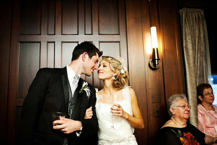 Images from the wedding of Andrea Boye and Scott Sieczkarek at the Julian Morgan Ballroom, 2011. Photo: Vrai Photo