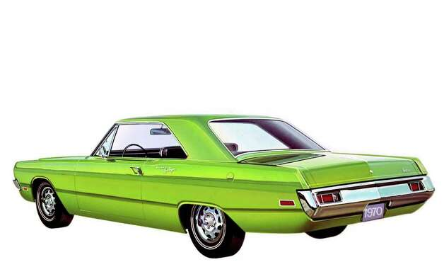 One of the most popular of the Dodge Darts was the Swinger, a name added to the lineup beginning in 1969 to denote the two-door hardtop models. This is a 1970 Swinger. COURTESY OF CHRYSLER GROUP LLC Photo: Chrysler Group LLC., COURTESY OF CHRYSLER GROUP LLC