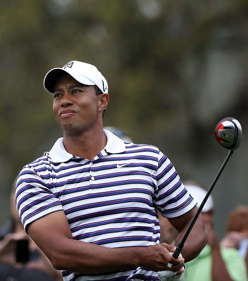 Tiger Woods plays a shot during the pro-am round prior to the Arnold Palmer Invitational presented by MasterCard at the Bay Hill Club and Lodge on March 23, 2011 in Orlando, Florida. Photo: Sam Greenwood, Getty Images