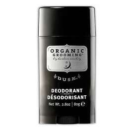 Herban Cowboy's Organic Grooming deodorant is carried at Whole Foods ($8.99).