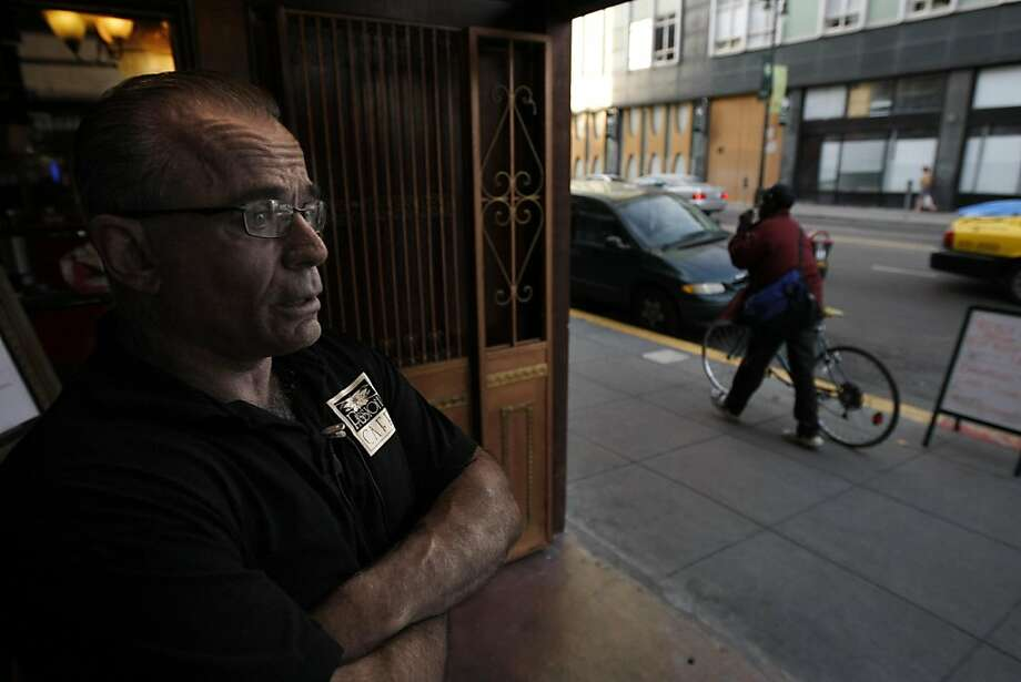 Steve Barton, co-owner of the Passion Cafe, has put everything into his restaurant and feels that he has to make it work.  The Passion Cafe, a french bistro on Sixth Street, opened with the intention to help revitalize its neighborhood, but they continue to have people loiter outside and even run inside and create a scene.  Photo was taken Tuesday, September 21, 2010, in San Francisco, Calif. Photo: Adm Golub, The Chronicle