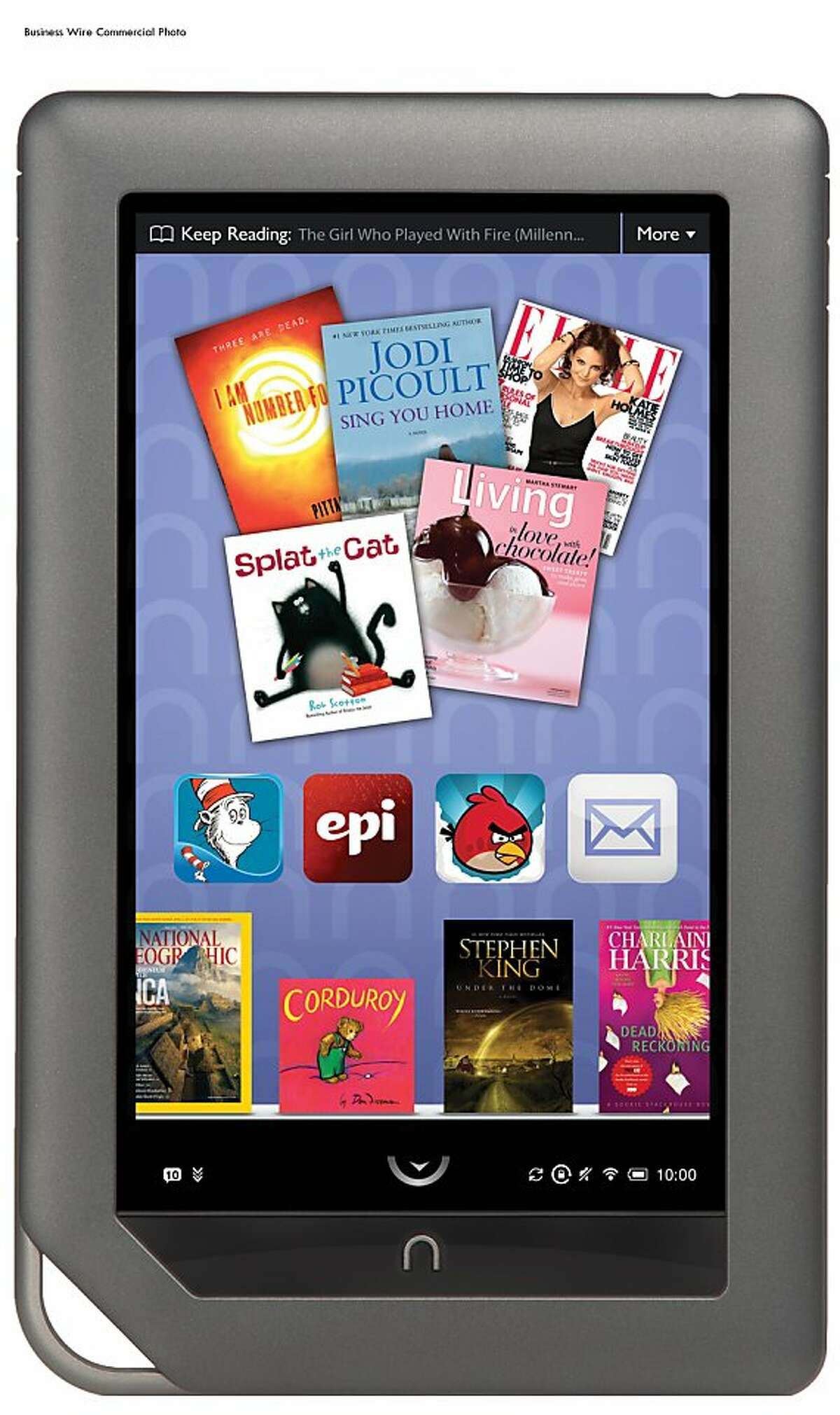 Staples will be selling NOOK Color starting May 1 (Photo: Business Wire)