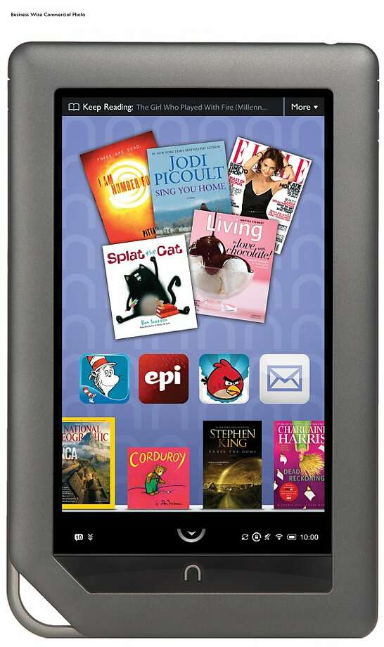 Staples will be selling NOOK Color starting May 1 (Photo: Business Wire) Photo: Business Wire