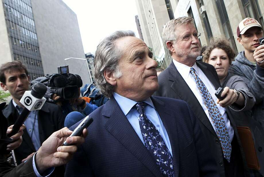 Benjamin Brafman, lawyer for Dominique Strauss-Kahn, leader of the International Monetary Fund, enters criminal court in New York City on Sunday, May 15, 2011. Strauss-Kahn, a possible candidate for president of France, was pulled from an airplane momentsbefore it was to depart for Paris on Saturday and was arrested in the alleged sexual assault of a New York hotel maid, police said. Photo: Andrew Burton, AP