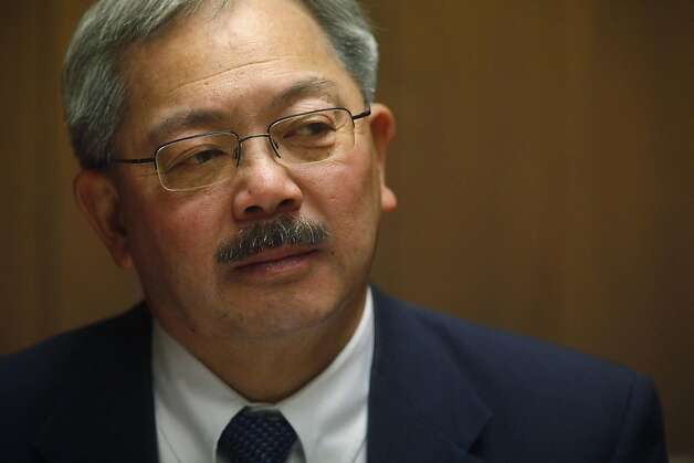 San Francisco Mayor Ed Lee, meets with the San Francisco Chronicle editorial board on Tuesday January. 25, 2011 in San Francisco, Calif. Photo: Mike Kepka, The Chronicle