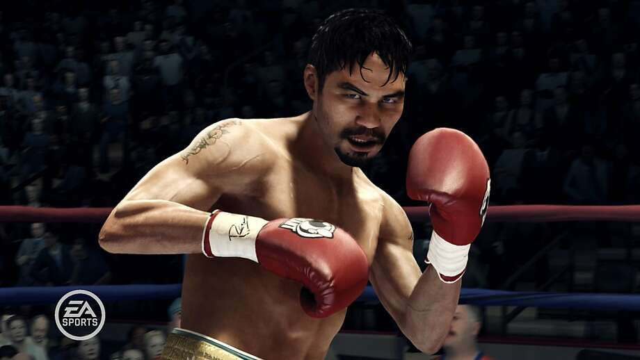 Manny Pacquiao is a playable character in Fight Night Champion, the grittiest entry in the series yet. Photo: Electronic Arts