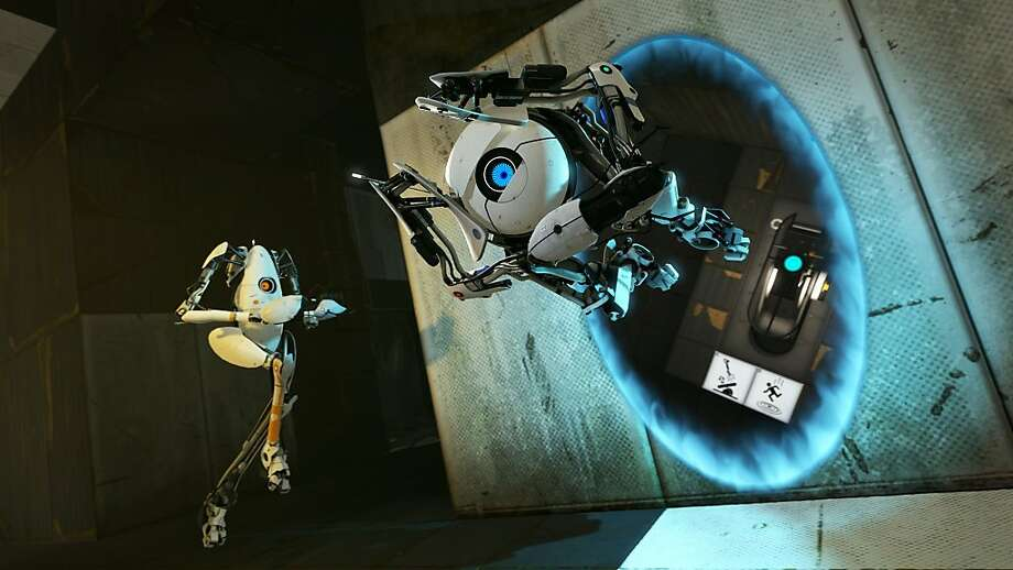 Portal 2 expands its gameplay with more space-bending tricks and a new standalone co-op multiplayer mode. Photo: Valve
