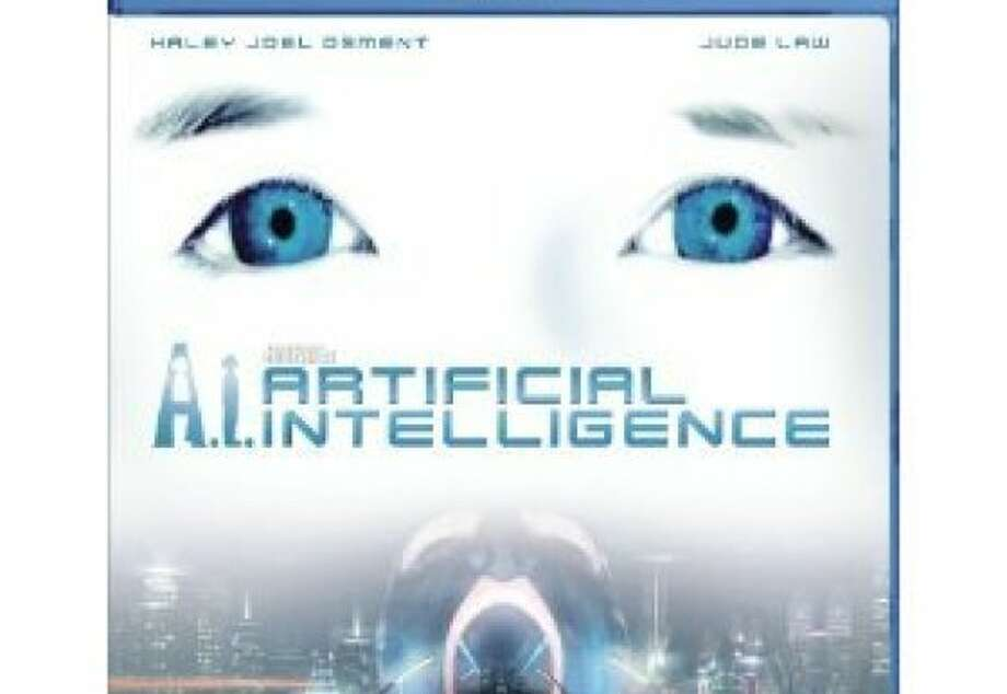 dvd cover A.I.: ARTIFICIAL INTELLIGENCE Photo: Amazon.com