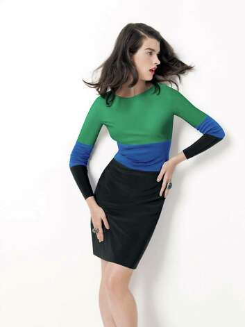 Nordstrom COLOR-BLOCK PARTY: Adrianna Papel color-blocked dress, $138-$158 depending on size, from Nordstrom. Photo: Nordstrom