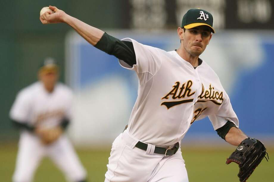 Brandon McCarthy opens on the mound for Oakland as the Athletics play the Chicago White Sox at  Overstock.com Coliseum in Oakland Calif,  on Friday, May 13, 2011. Photo: Alex Washburn, The Chronicle
