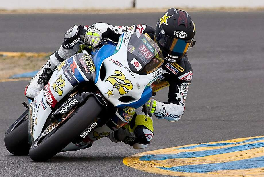 Suzukiês Tommy Hayden claimed his first AMA Pro National Guard SuperBike victory in Sonoma, Calif., on Sunday, May 15, 2011, at the West Coast Moto Jam. Photo: Robert Redmond