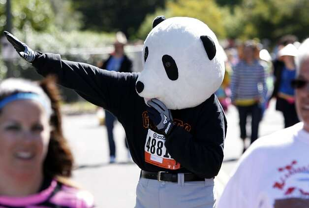 Larry Kitagawa of Daly City during the 100th annual Bay to Breakers 12K in San Francisco, Calif., on Sunday, May 15, 2011. Photo: Thomas Levinson, The Chronicle