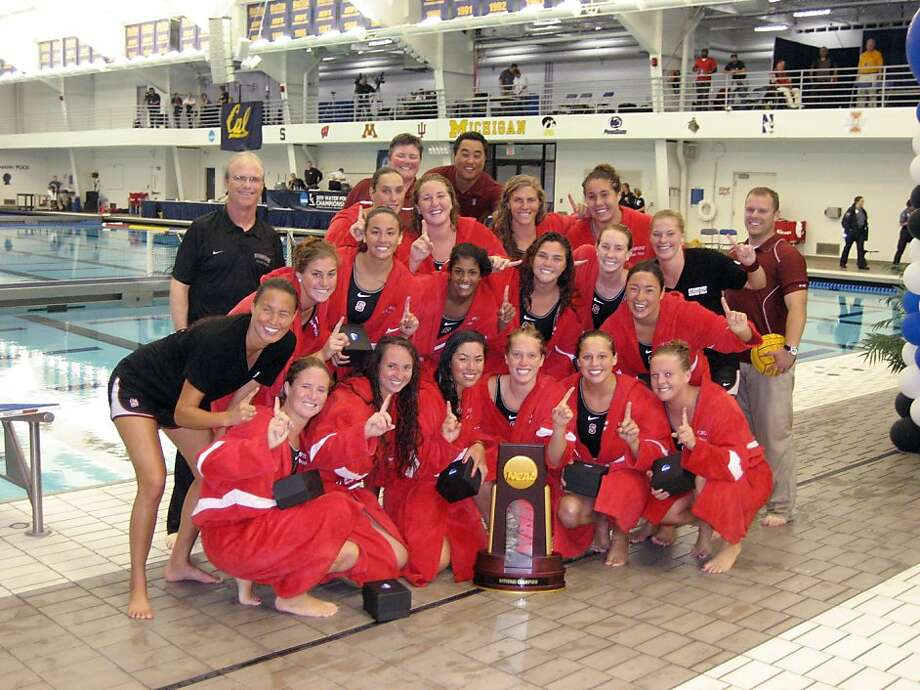 The Stanford Cardinal captured the programês second national title with a 9-5 victory in the National Collegiate Championship final in Ann Arbor, Mich., on Sunday, May 15, 2011, against its cross-Bay rival No. 2 California.  Stanford (28-1) adds the 2011 title to its 2002 crown, and claimed its 31st consecutive victory over California, to which the Cardinal has not lost since March 26, 2000. Photo: Aaron Juarez, Stanford Athletics