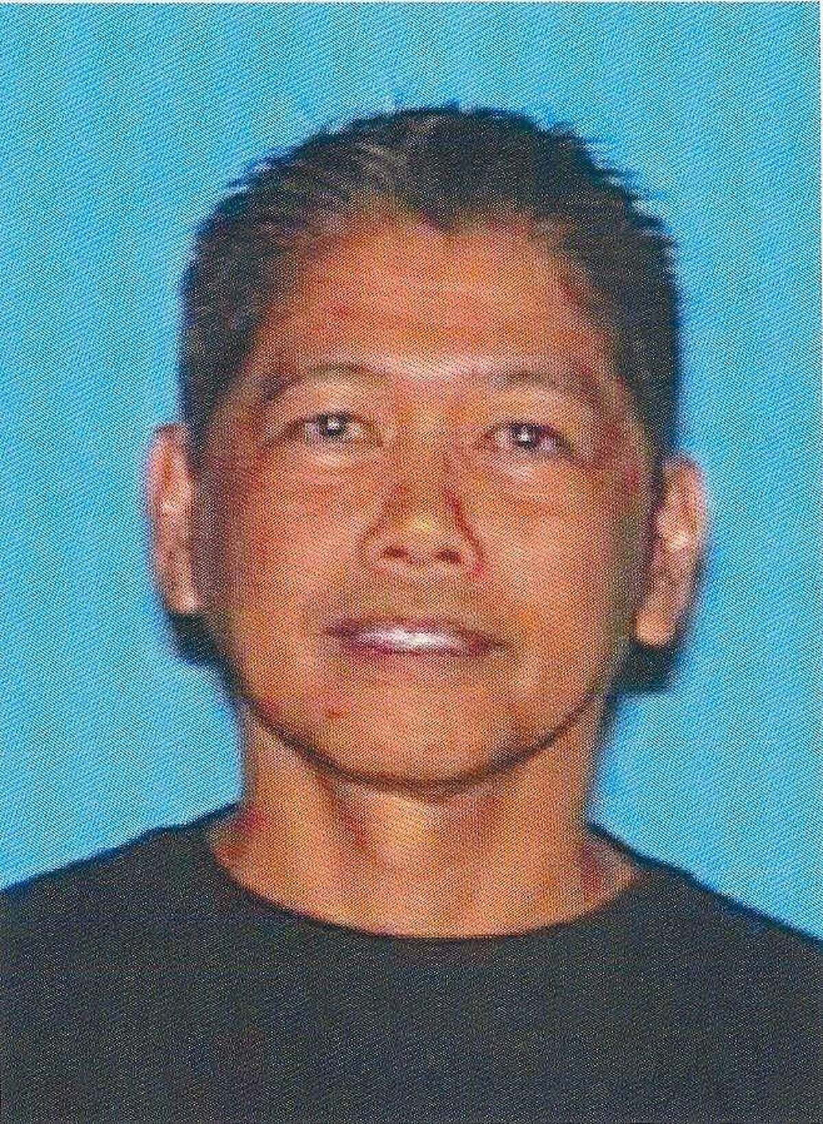 Napoleon Lavarias Caliguiran, 54, of San Jose, who officials say fatally shot his wife and a male companion as they sat in a car in a parking garage at San Jose State University on May 10. Caliguiran then killed himself.