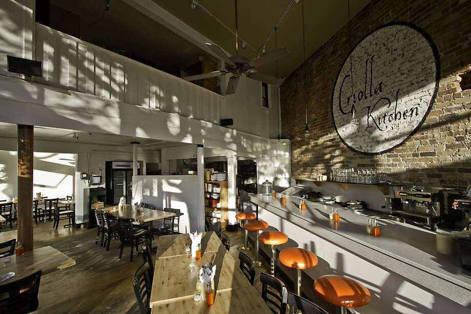 Criolla Kitchen, a southern-style restaurant tempered with a Northern California sensibility from former Lark Creek Tavern chef Randy Lewis. Photo: Jon Grintz